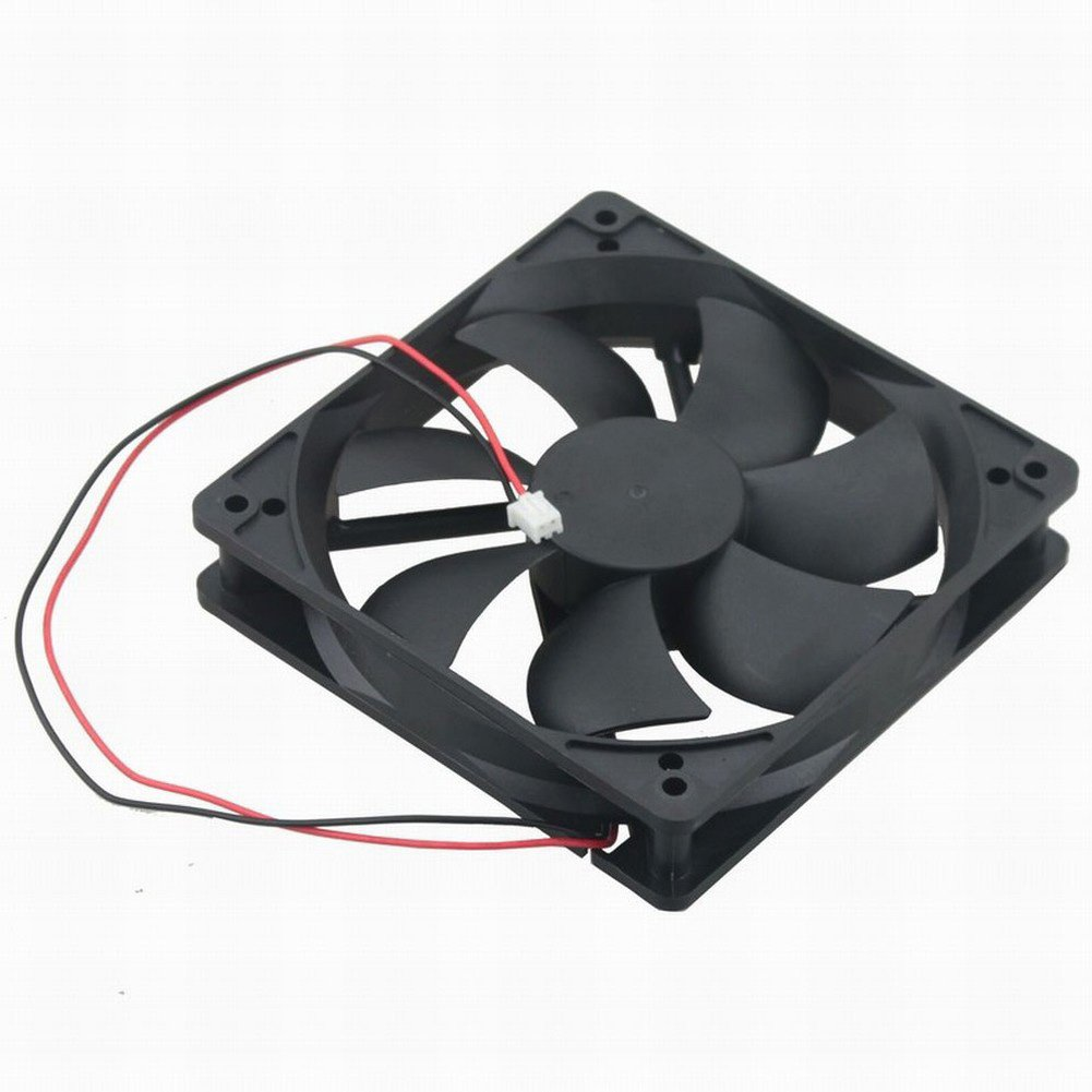 GDSTIME Dual Ball Bearing 24V 120mm x 25mm 5 inch Brushless DC Cooling Fan