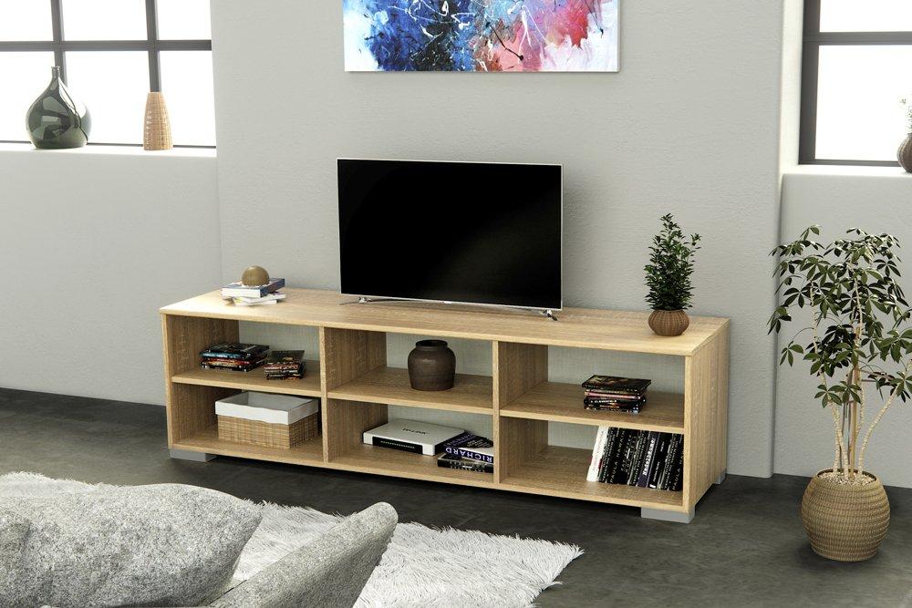 INFINIKIT Haven TV Stand 39 x 150 x 43cm White