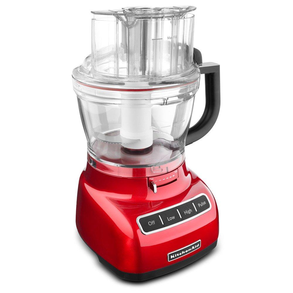Amazon.com: KitchenAid 13 Cup Metal Food Processor KFP1344CA, Red: Kitchen  U0026 Dining