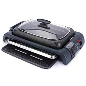 Tefal Excelio Comfort Grill TG8000 Grill and Saute Pan 220V Lid, Thermal Sensor