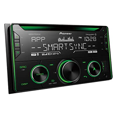 Pioneer FH-S722BS Double DIN CD Receiver with Built-In Bluetooth: Electronics