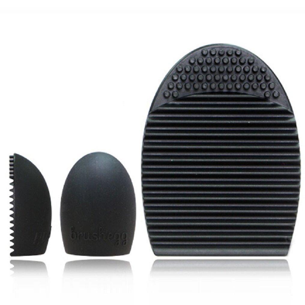 Malloom® Professionale Contorno Piatto Fard Pennello Cosmetico Rossore Kabuki Strumento Cosmetici Pennello Trucco (Nero) Malloom-ER5