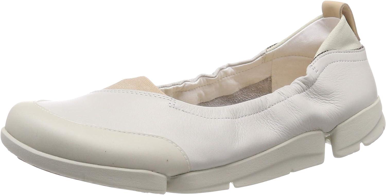 Clarks Womens Tri Adapt Ballet Flats