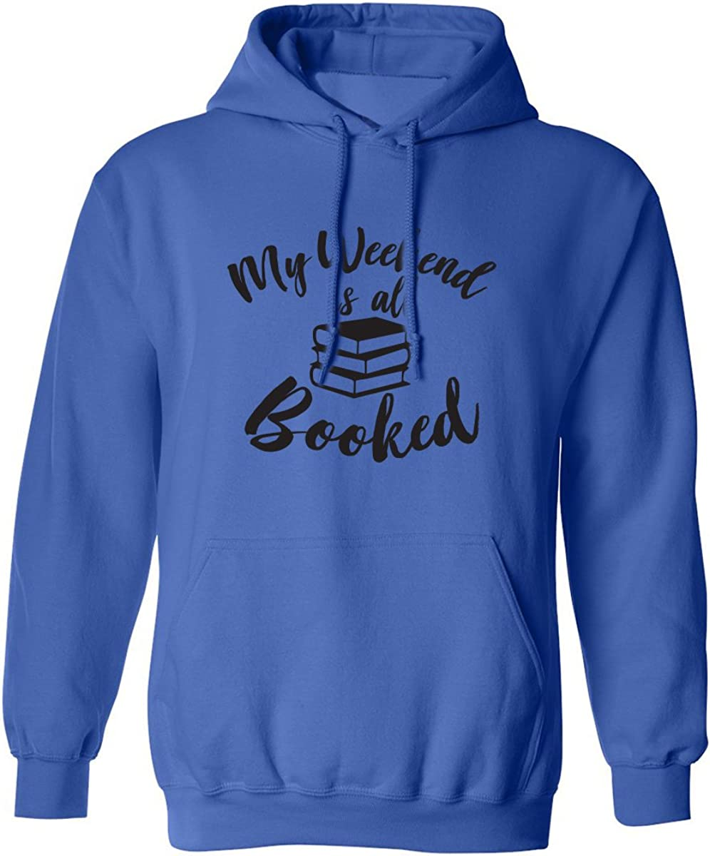 ZeroGravitee My Weekend is All Booked Adult Hooded Sweatshirt