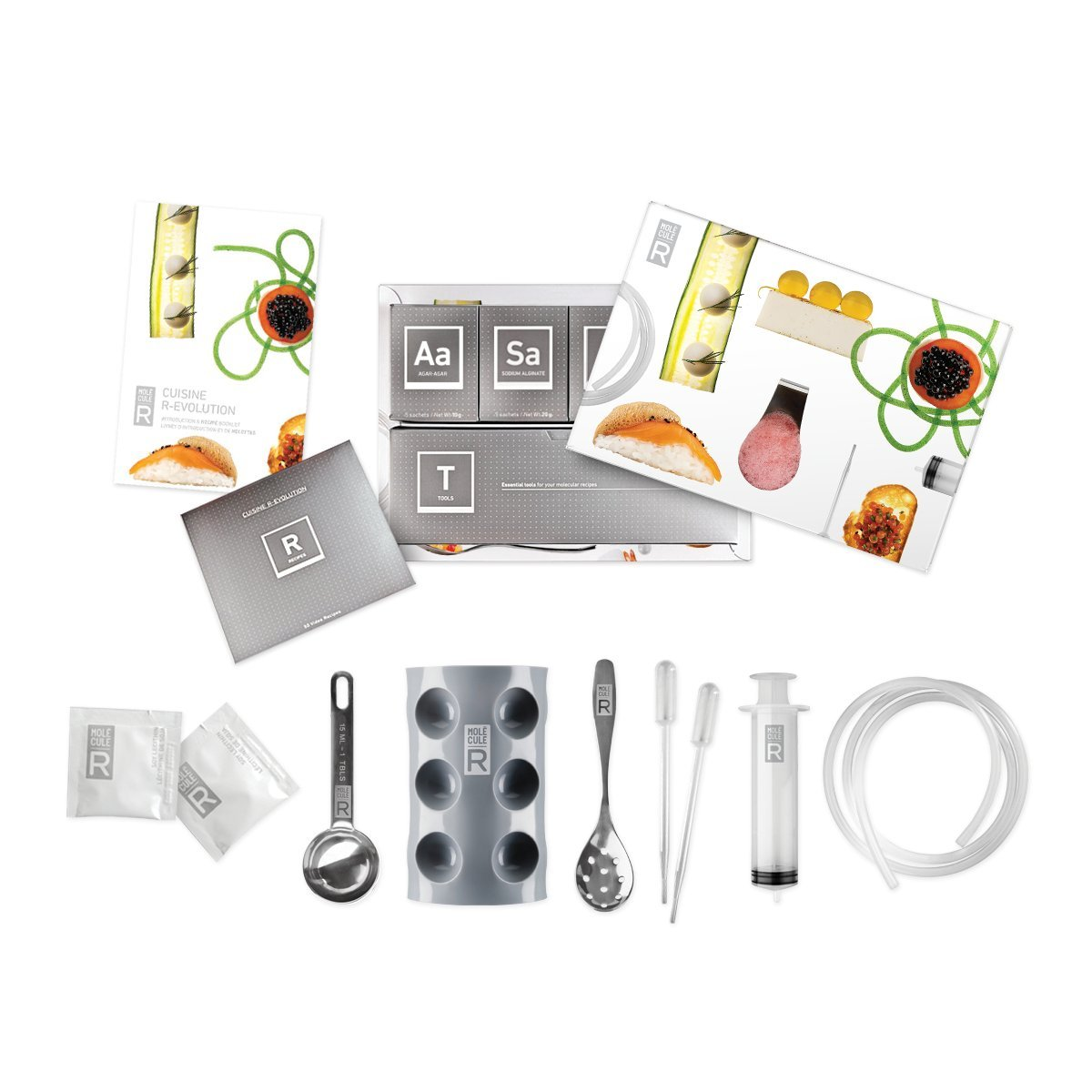molecular gastronomy cuisine r evolution kit bar molecule r with recipe dvd gift ebay. Black Bedroom Furniture Sets. Home Design Ideas