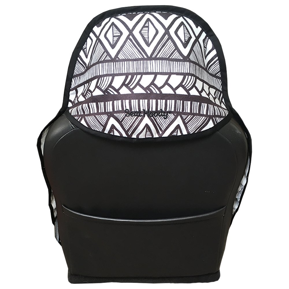 After a Workout Grippy Nonslip Backing Universal Fit Hot Yoga Hawaiian Beach Babe Make Today Great Company Beach Seat Protection Machine Washable Seat Hoody: Post-Workout Car and Truck Seat Cover Protector