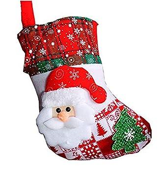 Amazon.com: Lioraitiin - Calcetines de Navidad para colgar ...