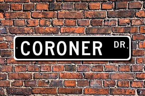 Coroner, Coroner Gift, Coroner Sign, Regalo para Coroner ...