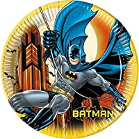 23cm Batman Platos Fiesta, pack de 8
