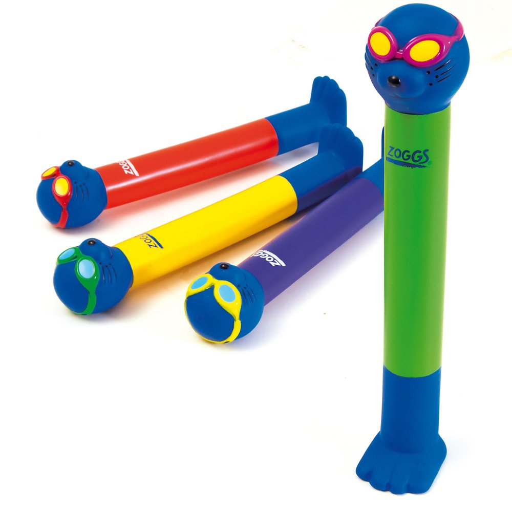 Zoggy Swimming Pool Diving Fun Zoggy Sticks Set of 4