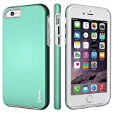iPhone 6 Case,iPhone 6s Case,Vakoo armor Impact Resistant Rugge Durable Shockproof Dual Layer Heavy Duty Protection Case Cover for Apple iPhone 6 and 6s (Mint)