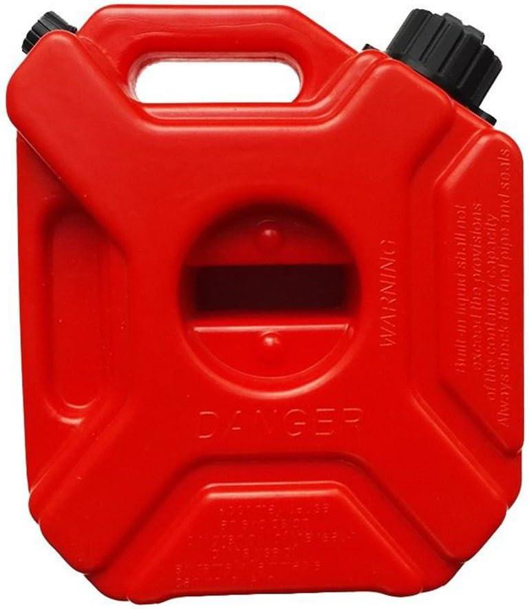 Tragbar Weithalskanister//Abkl/ärkanister//Mehrzweckkanister//Kraftstoff-Kanister f/ür Kompressoren/öl Spindel/öl Traktoren/öl Etc,Benzinkanister als Auto Zubeh/ör//Auto Pflege,5L