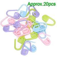 SODIAL(R) 20 piezas de plastico para hacer punto