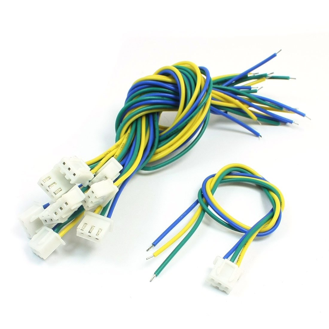 10Pcs JST-XH Connector 24AWG Wire 20cm Long for RC Radio Control Plane