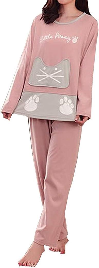 Pijamas De Manga Larga De Las Mujeres De Ropa Manga Larga De ...