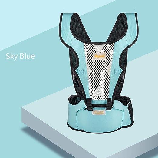 Newborn Baby Boys Girls Carrier Sling Wrap Versatile Backpack Front Back 0-36 Months, Blue FTXJ Baby Sling