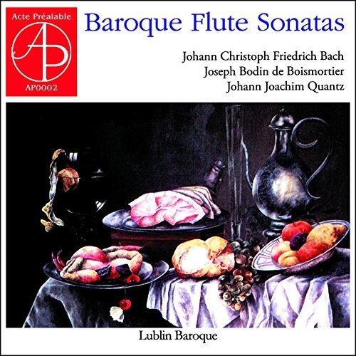 Baroque Flute Sonatas ()