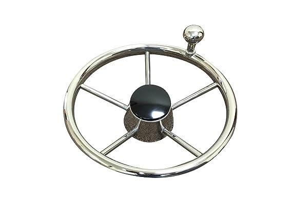 Amazon Com Pactrade Marine Destroyer 11 S S Steering Wheel