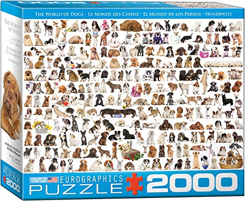 EuroGraphics The World of Dogs Puzzle - World Jigsaw Puzzle Outlets