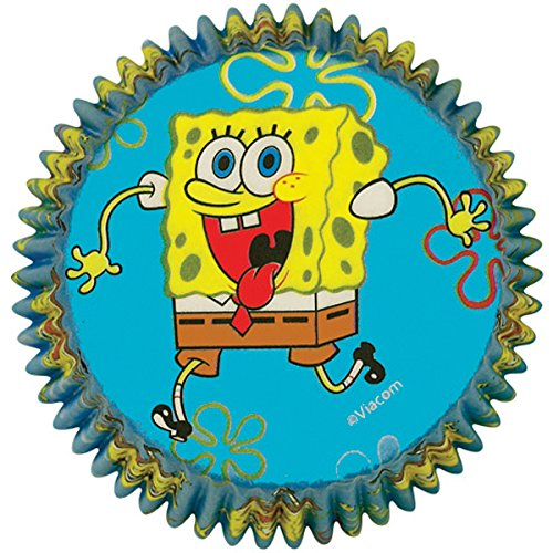 Wilton SpongeBob Squarepants Baking Cups -