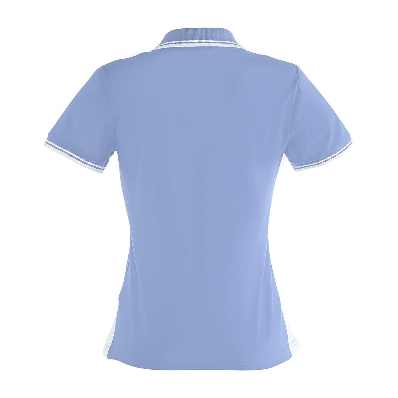 BRDS 6361027744 Contrast - Polo para mujer (talla 44), color azul ...