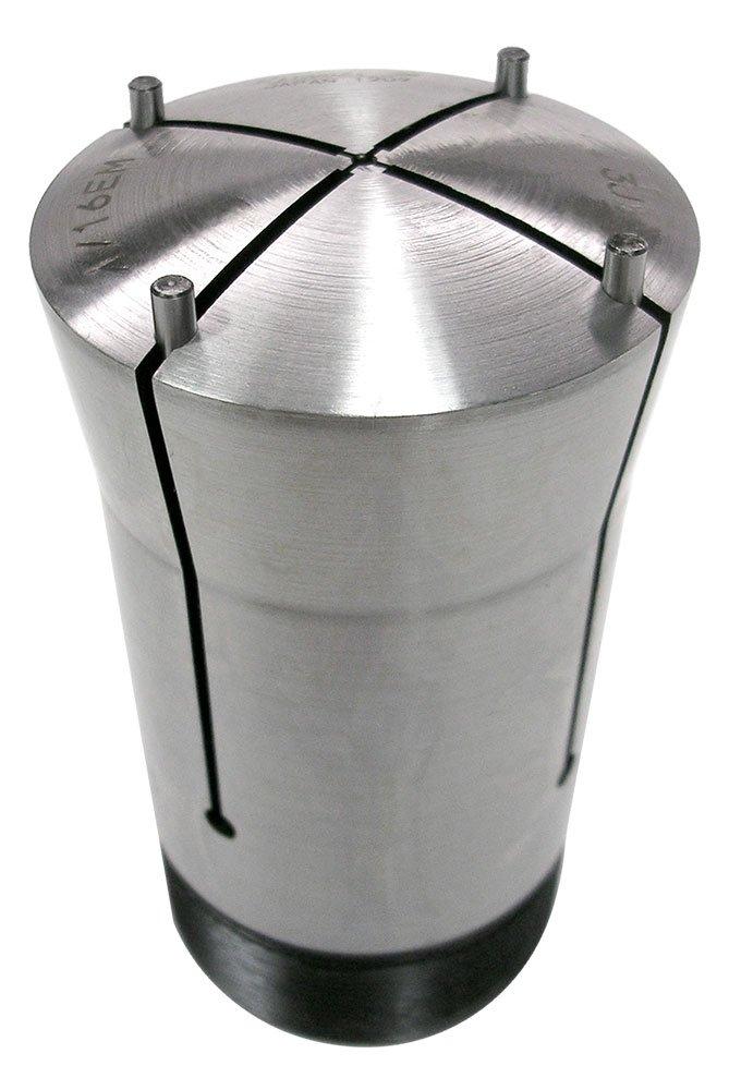 Lyndex 360-001S 3J Steel Emergency Collet, 1/16'' Pilot Hole, 3.75'' Length, 2.20'' Top Diameter, 2'' Bottom Diameter