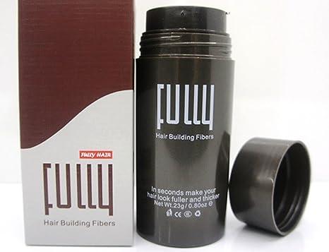 Fibras de cabello Fully 23 g, prémium deluxe, para aumentar la densidad de pelo