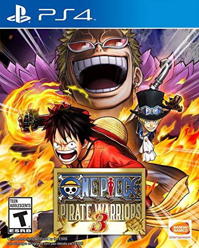 One Piece: Pirate Warriors 3 - PlayStation 4 (Warriors Pirate)