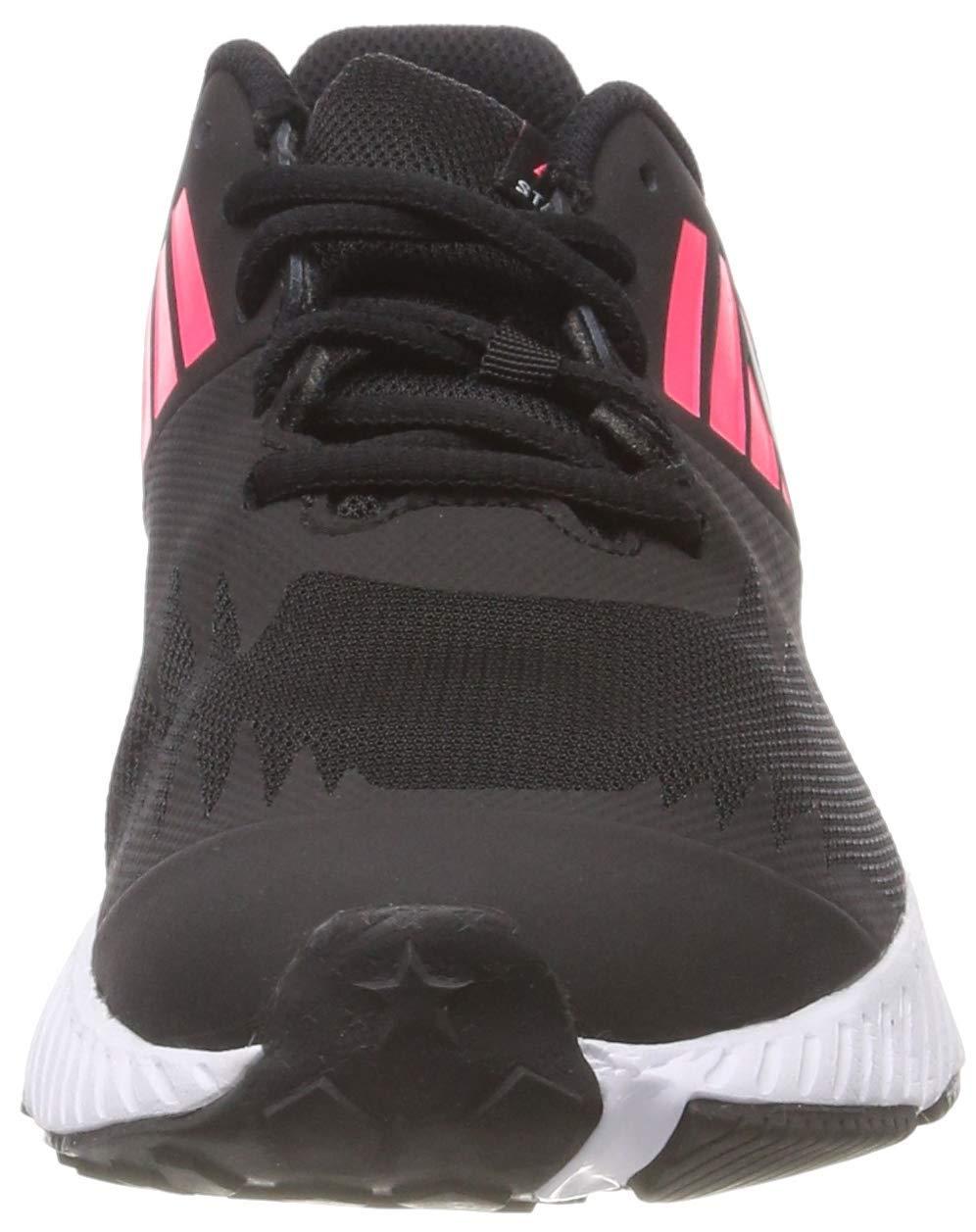 Nike Girl's Star Runner (GS) Running Shoe Black/Metallic Silver/Racer Pink/Volt Size 3.5 M US by Nike (Image #3)