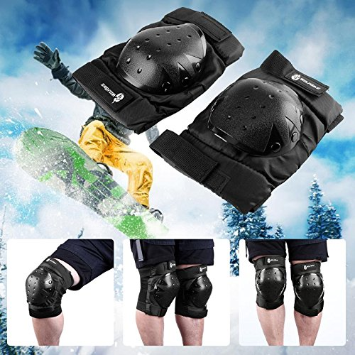 Preeyawadee Knee Pads Safety Sports Outdoor Knee Protector Gear For Skating Skiing Hiking