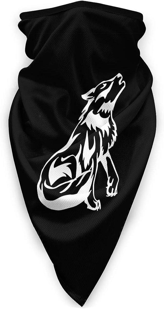 Howling Wolf Outdoor Face Mouth Mask Windproof Sports Mask Ski Mask Shield Scarf Bandana Men Woman