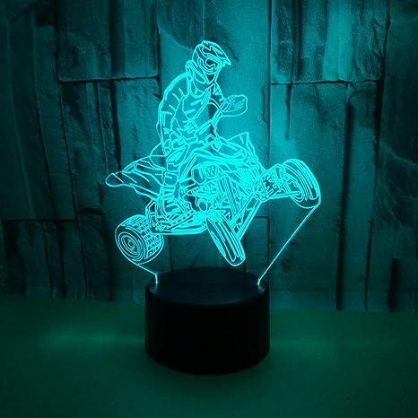 Luz Nocturna Infantil, Lampara Escritorio Lampara 3D LED ...