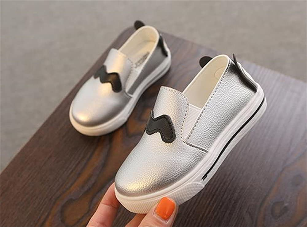 Super frist Kids Girls Loafers Flats Shoes Comfort Moccasins Slip On Fashion Sneakers