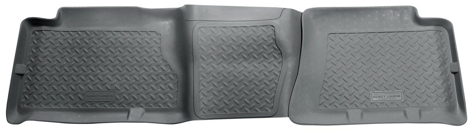 Husky Liners 2nd Seat Floor Liner Fits 05-07 Silverado//Sierra 1500 HD Crew Winfield Consumer Products 61462