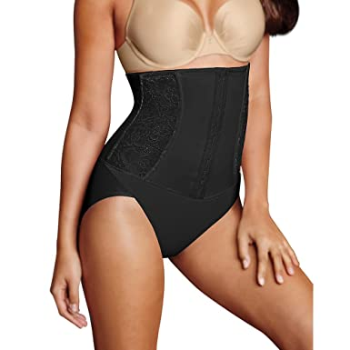 47053b56d9 Maidenform Firm Foundations Waist Nipping Brief at Amazon Women s Clothing  store