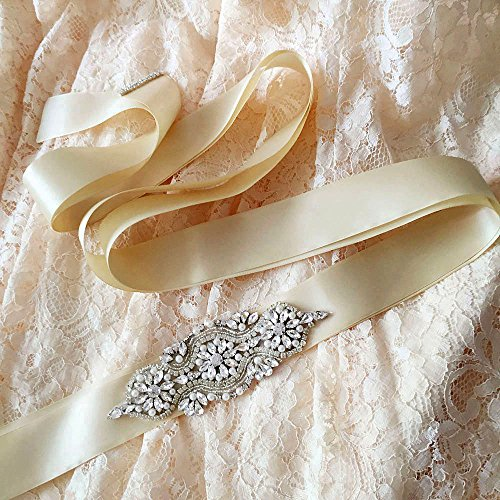 Ceintures De Châssis De Mariée Cristal Des Femmes Azalées Les Ouvrants De Ceinture De Mariage Pour Robe De Mariée Violette