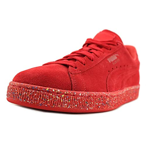 dde15b7c7ace Puma Suede Classic Multi Splatter Men US 12 Red Sneakers  Amazon.co ...