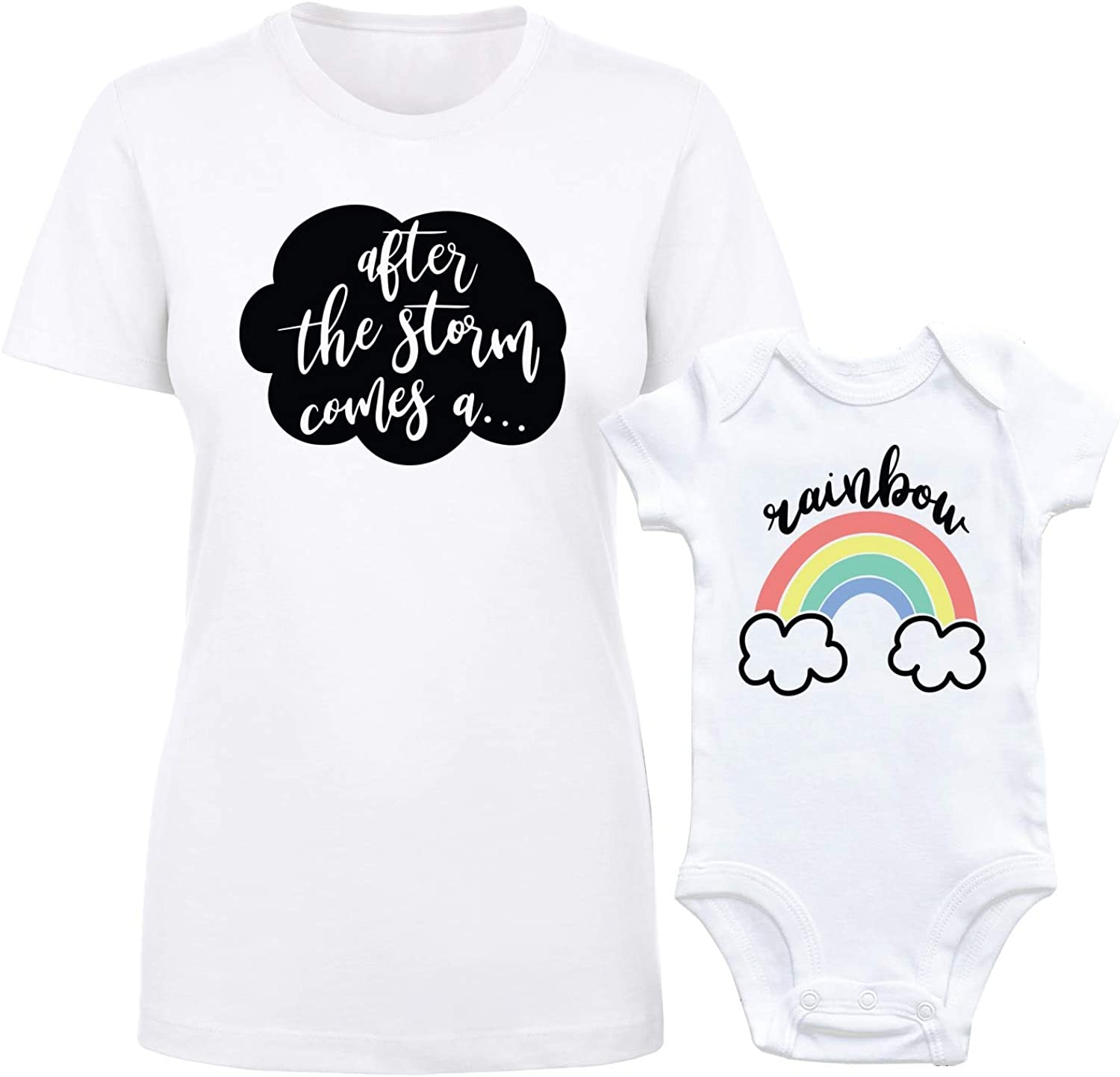 Rainbow Baby Onesie Oh Hello Little Rainbow Baby Announcement Going Home Outfit