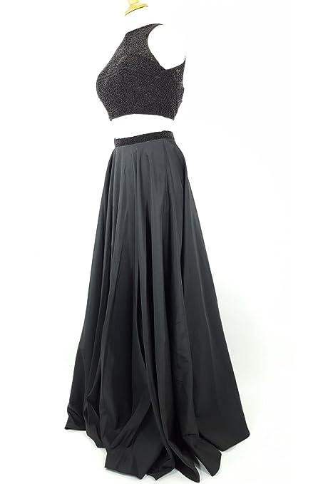 Sherri Hill Black 50803 Elegant Two Piece Dress with Beaded Top: Sherri Hill: Amazon.co.uk: Clothing