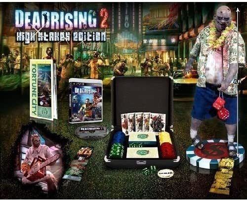 Dead Rising 2 High Stakes Edition with Poker Cards, Chips, Dice ...
