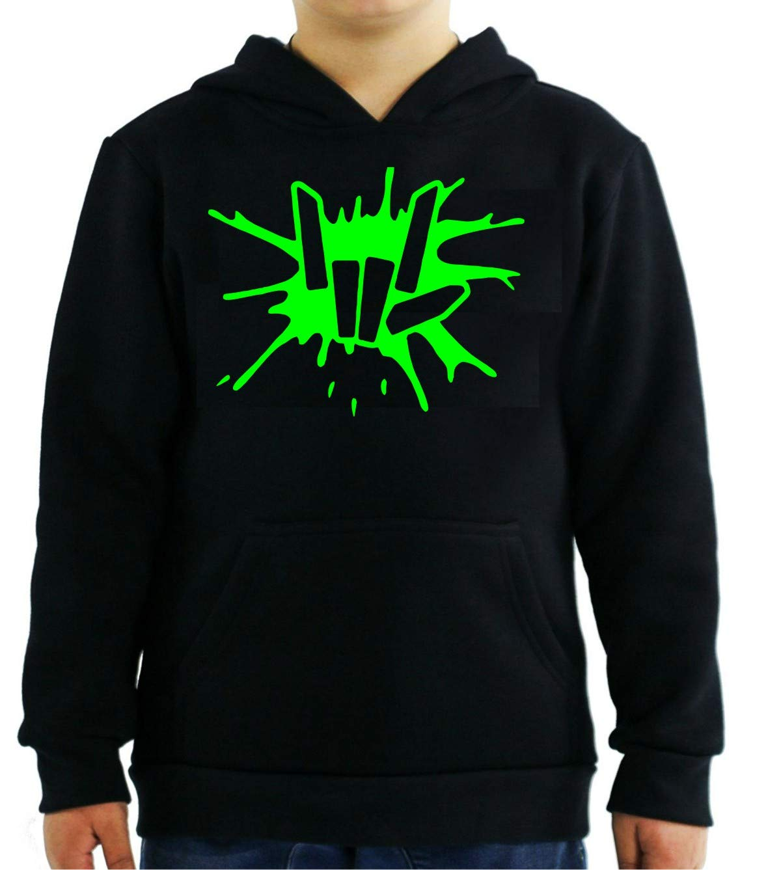 Green Share The Love Splat Black Shirts