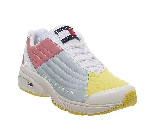 Zapatillas Tommy Hilfiger Colorblock Mujer: Amazon.es: Zapatos y complementos