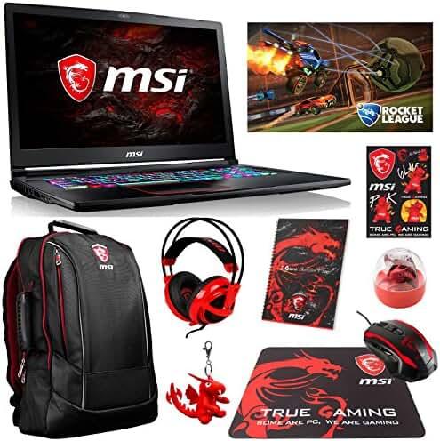 MSI GE73VR Raider-067 Enthusiast (i7-7700HQ, 32GB RAM, 1TB NVMe SSD + 512GB SATA SSD, NVIDIA GTX 1060 6GB, 17.3