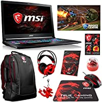 MSI GE73 Raider-008 Enthusiast (i7-7700HQ, 32GB RAM, 2x 500GB NVMe SSD, NVIDIA GTX 1050Ti 4GB, 17.3 Full HD 120Hz 5ms, Windows 10) Gaming Notebook