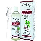 HillDews Virgin Coconut Oil | 200ml | Pure | Natural | Unrefined | Cold Pressed | Skin & Hair