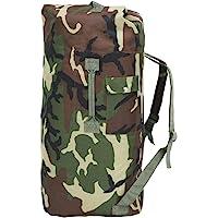 vidaXL Army-Style Duffel Bag 85L Travel Shoulder Luggage Backpack