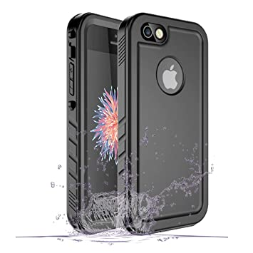 353b4fcf8bf SPORTLINK Funda Impermeable iPhone Waterproof IP68 Carcasa Resistente al  Agua con Protector de Pantalla Incorporado para Apple iPhone SE/iPhone 5s /  iPhone ...