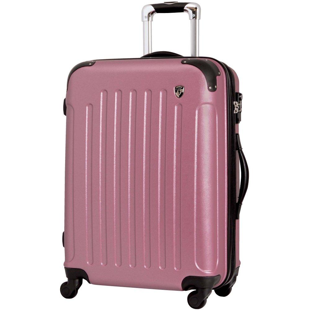 [グリフィンランド]_Griffinland TSAロック搭載 スーツケース 超軽量 マット加工 newFK10371 ファスナー開閉式 B002T4M7KG S(小)型|ローズ ローズ S(小)型