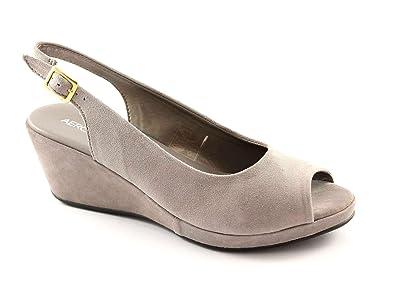 Aerosoles Souliers BIENVENUE d'huîtres femme sandales confort de marche Grigio - Chaussures Sandale Femme