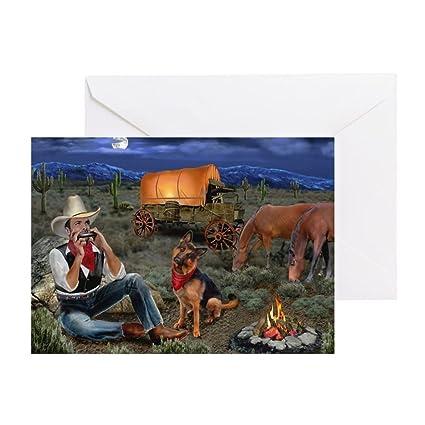 Amazon cafepress lonesome cowboy greeting cards greeting cafepress lonesome cowboy greeting cards greeting card note card birthday card m4hsunfo